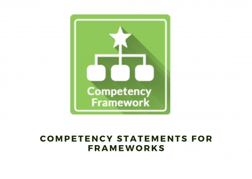 Competency Statements For Frameworks