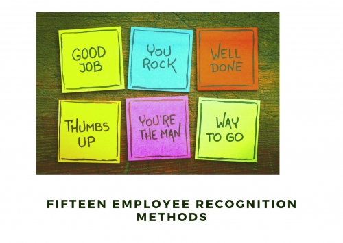 Fifteen Employee Recognition Methods