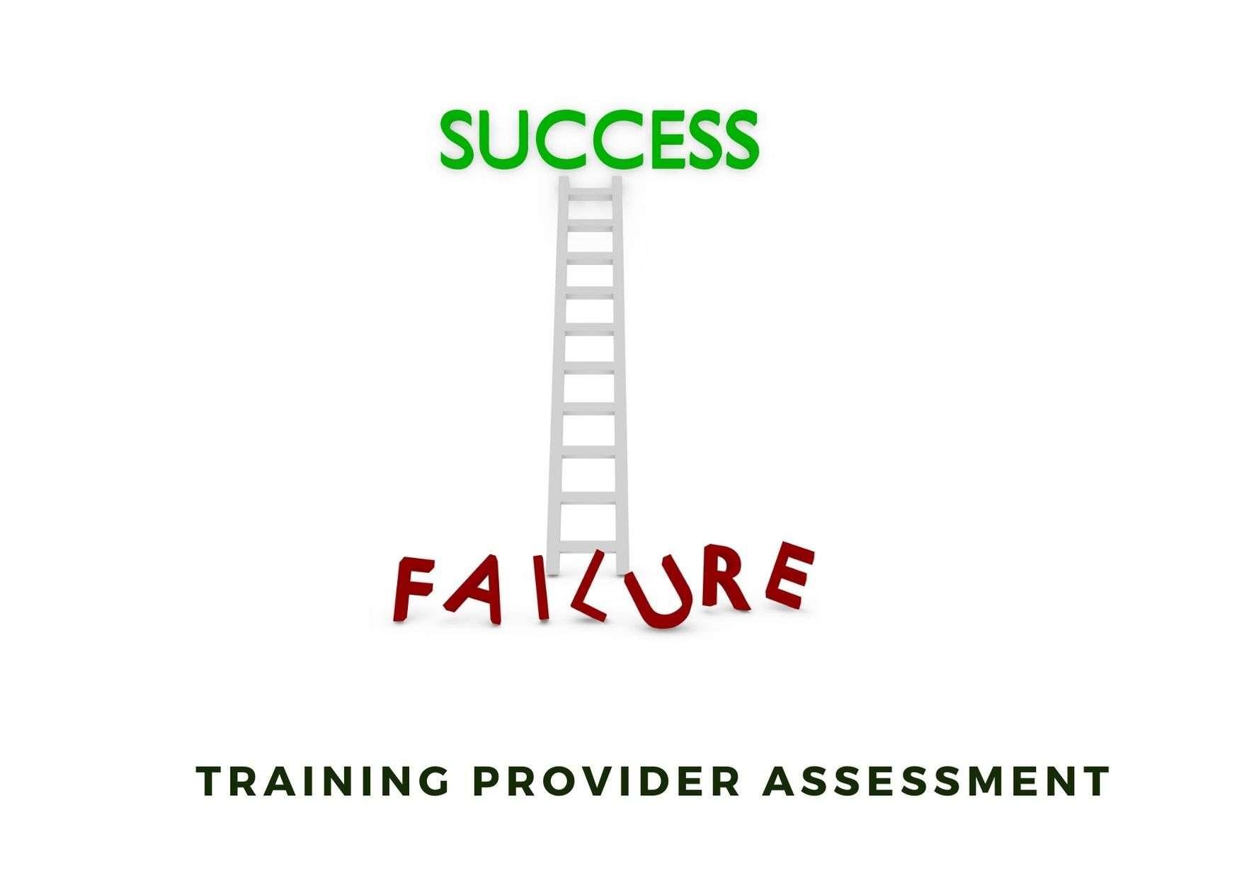 Training provider assessment