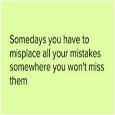 Misplace Mistakes